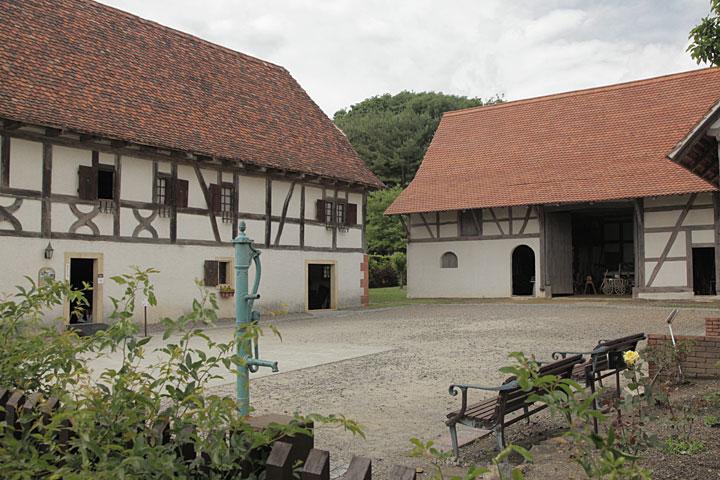 フランス アルザス地方の農家の家