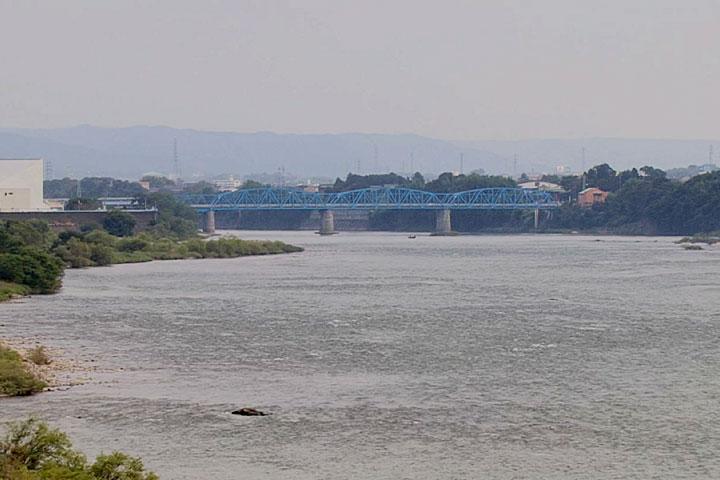 太田橋を通過