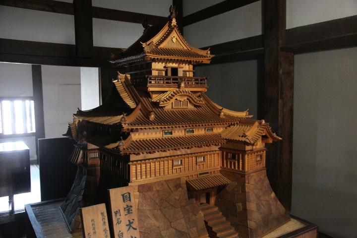 犬山城模型(1階)