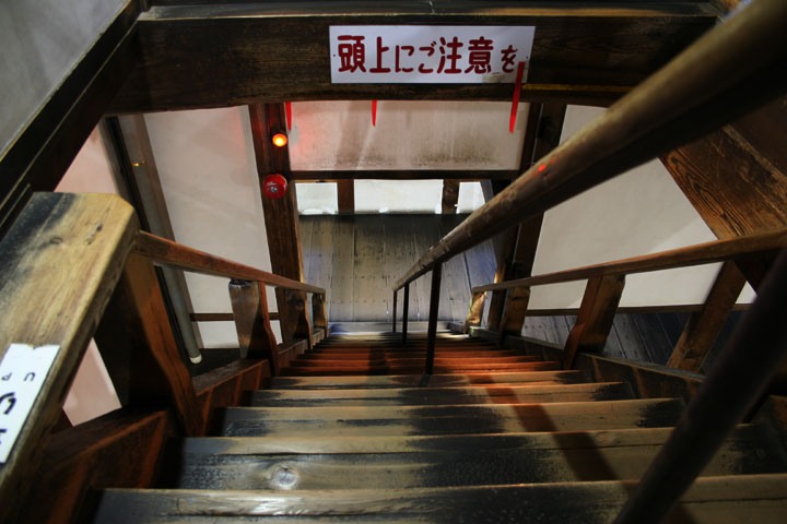 Stairs to the gable(Hafu)
