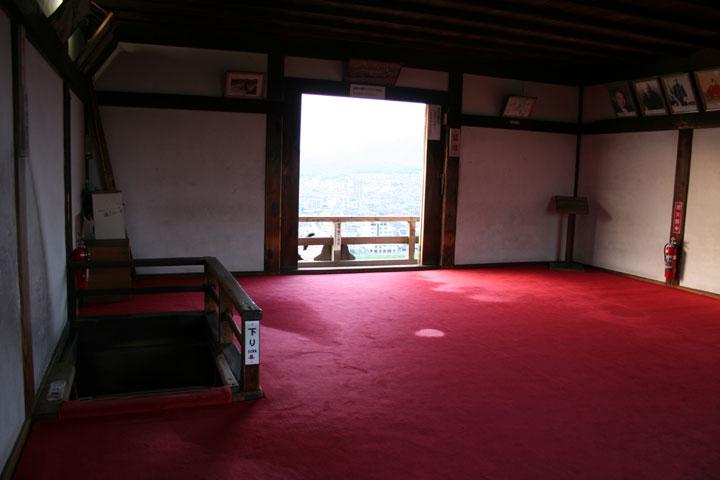 The top floor(Tenshu)