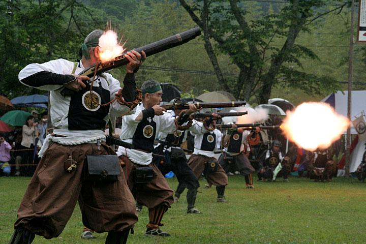 長篠合戦のぼり祭り(新城市)