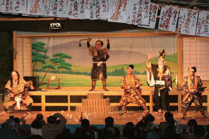奉納歌舞伎