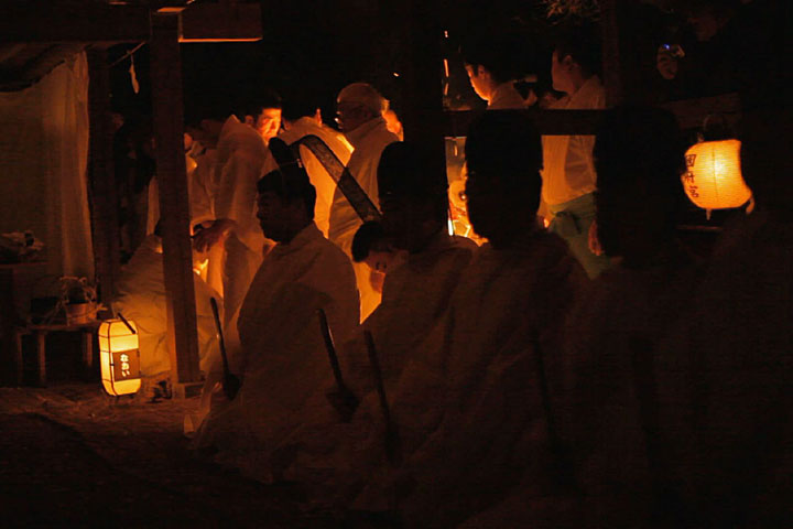 夜儺追神事-庁舎(ちょうや)