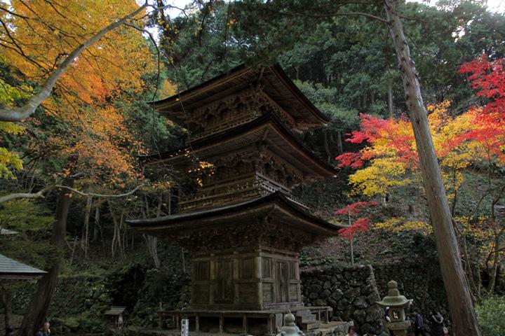 三重塔(岐阜県指定重要文化財)