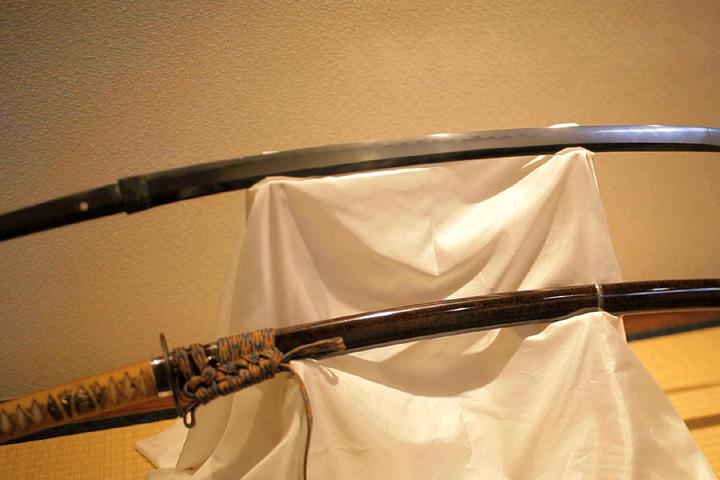 完成された日本刀