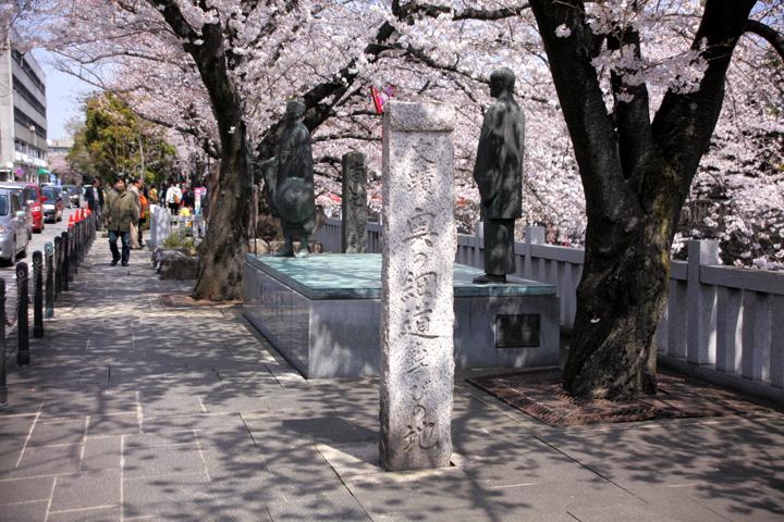 大垣は松尾芭蕉「奥の細道」終焉の場所