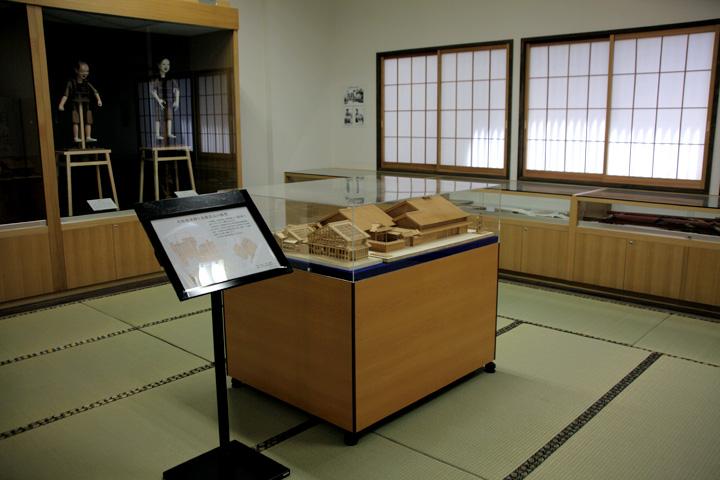 大垣宿本陣資料館展示