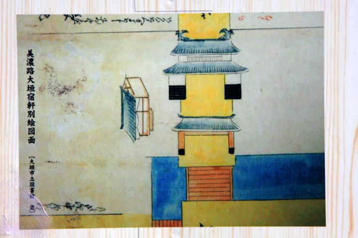 西総門跡(京口門跡)絵図
