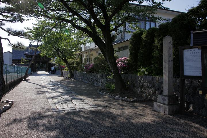 大垣藩戸田家の菩提寺円通寺
