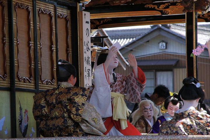子供歌舞伎狂言「一の谷嫩軍記」鳳凰山(東町)