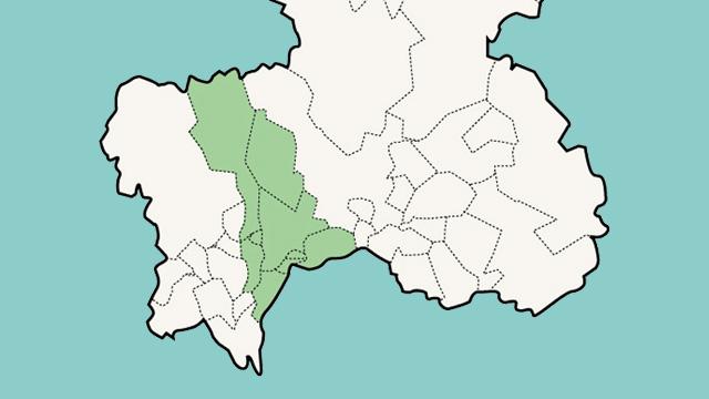 愛知県岐阜地区