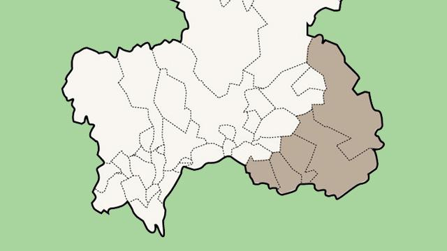 愛知県東濃地区