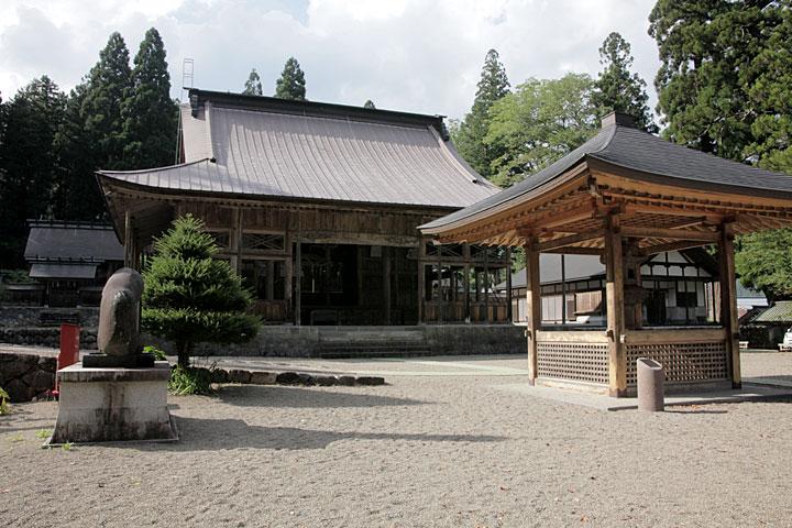 長滝白山神社 拝殿
