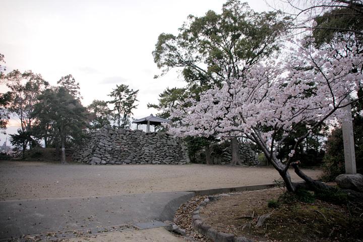 神戸城址(鈴鹿市)