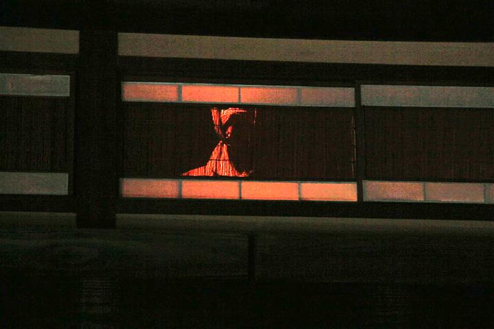 中二階部屋に潜む忍者