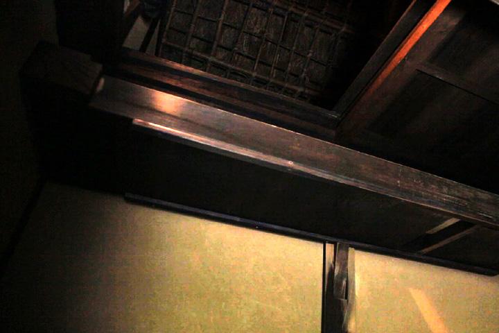 中二階部屋に通じる空間