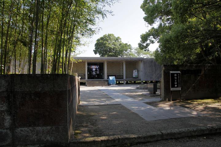 芭蕉翁記念館 芭蕉翁の真筆や俳諧の文献を展示