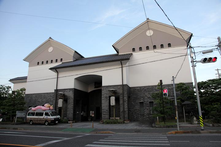 だんじり会館 上野天神秋祭の関連だんじり等を展示