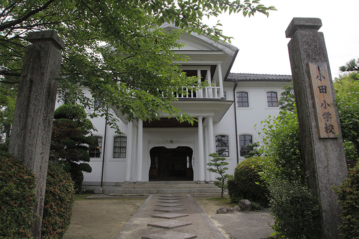 旧小田小学校本館  現存する小学校校舎としては三重県で最古