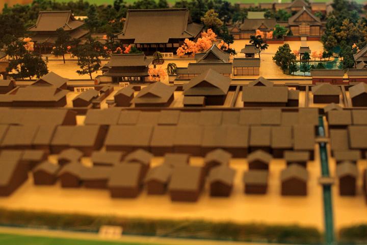 寺内町模型