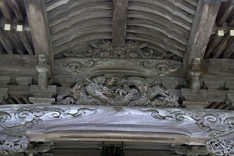 Carved decorations