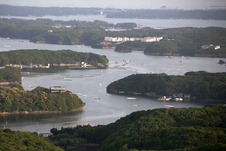 Ago Bay(from Yokoyama Observatory)