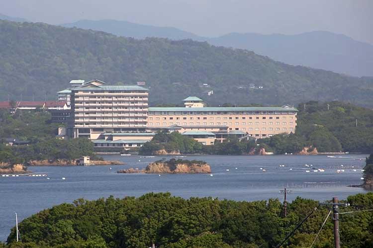 賢島(桐垣展望台より)