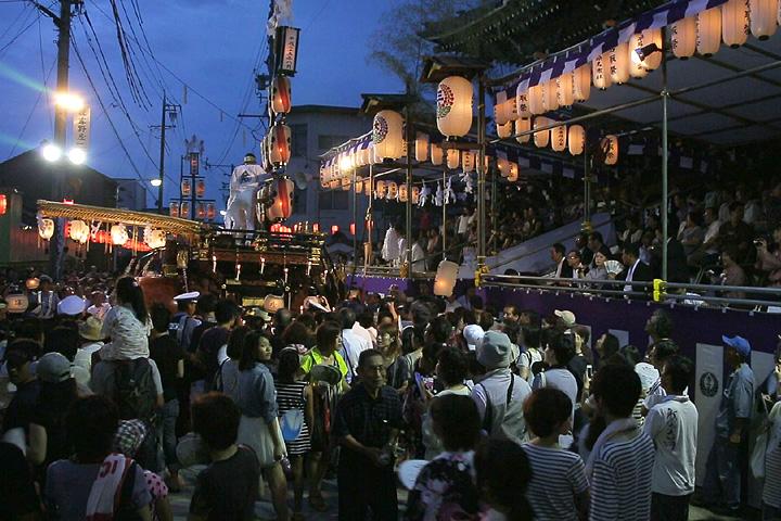 春日神社 渡祭(神社参拝)