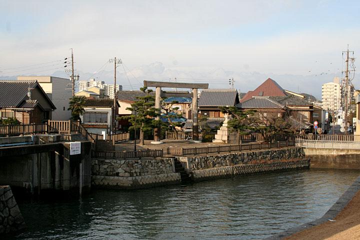 東海道桑名宿 七里渡し場跡