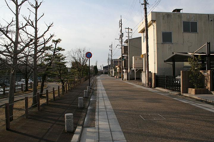 東海道 左手桑名城跡