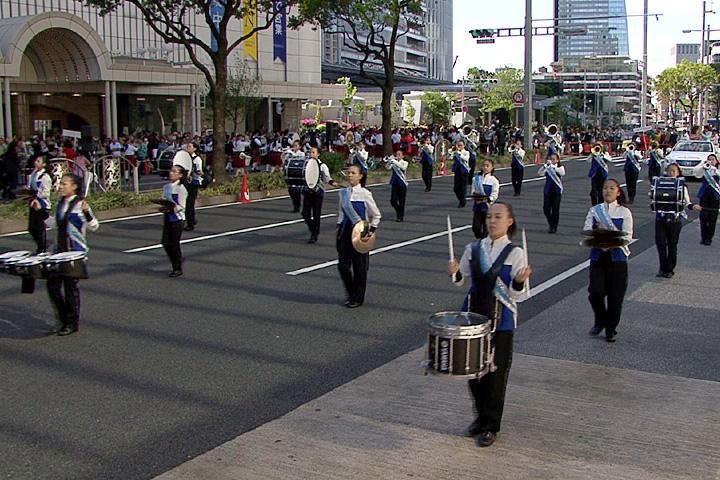 名古屋女子大学中高マーチングバンド部