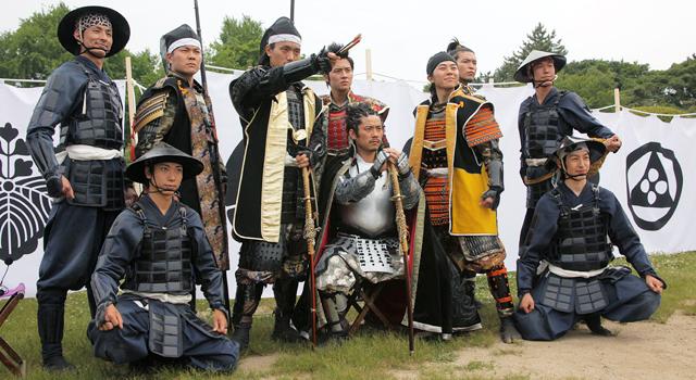 新生名古屋おもてなし武将隊の10名