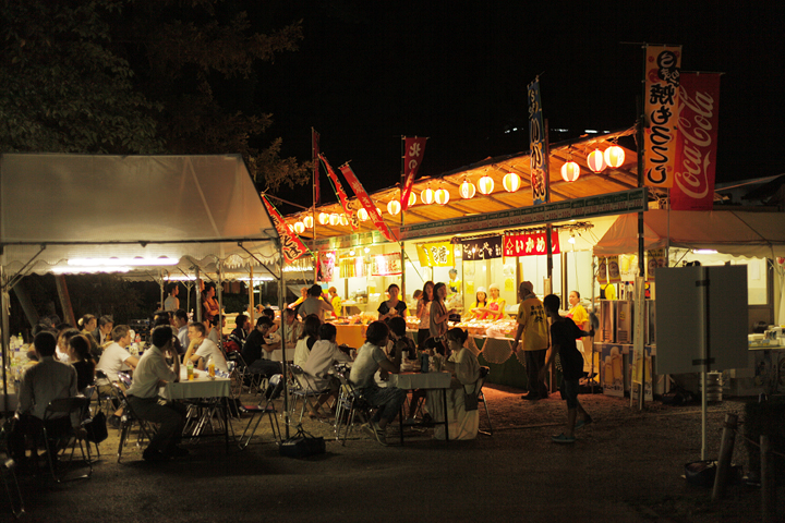 初めて西之丸に設けられたビアレストラン「北郷」