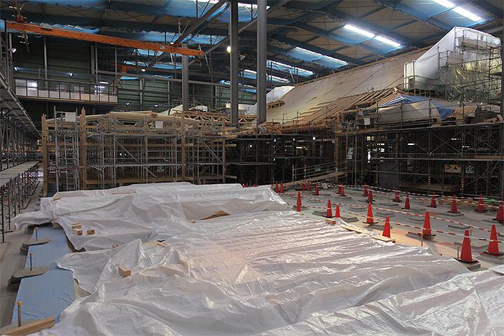復元工事(2012年11月3日)