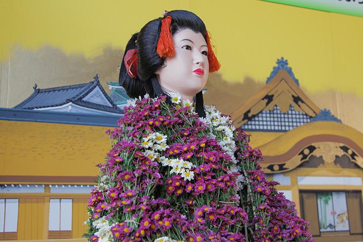 春姫の菊人形