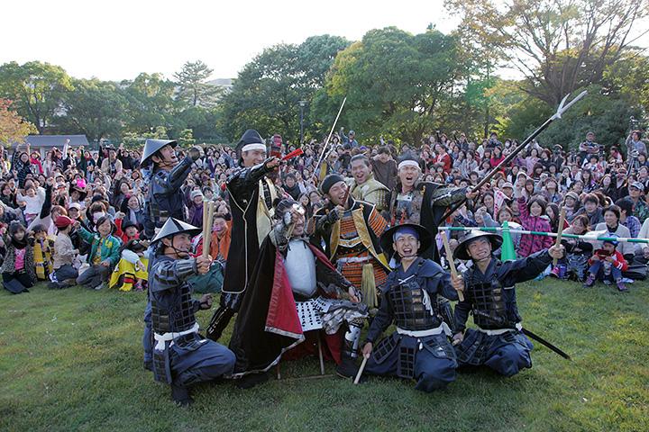 結成三周年をファンと共に祝う名古屋おもてなし武将隊