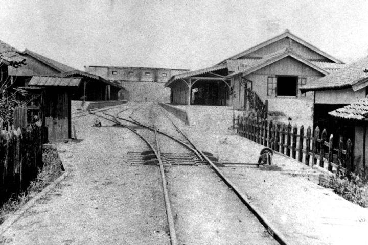 開業当時の名古屋駅構内