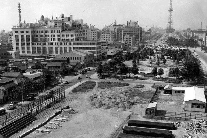 久屋大通公園(昭和30年代終わり)