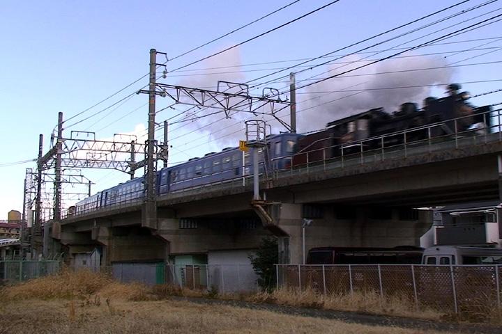 小本駅へ向かうC56