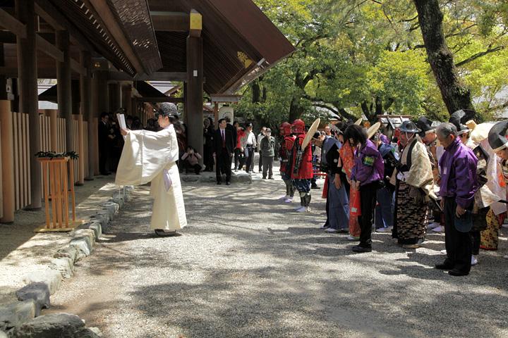 熱田神宮参拝