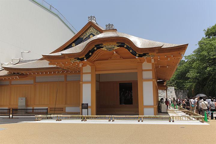 公開中の名古屋城本丸御殿玄関