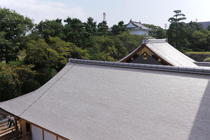 5月29日の公開から4ヶ月経過し屋根の色が少し黒ずんできた