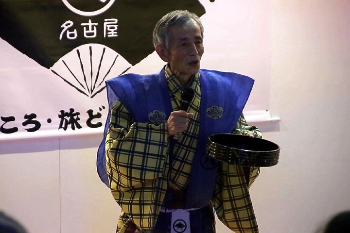 狂言師佐藤友彦さんの解説