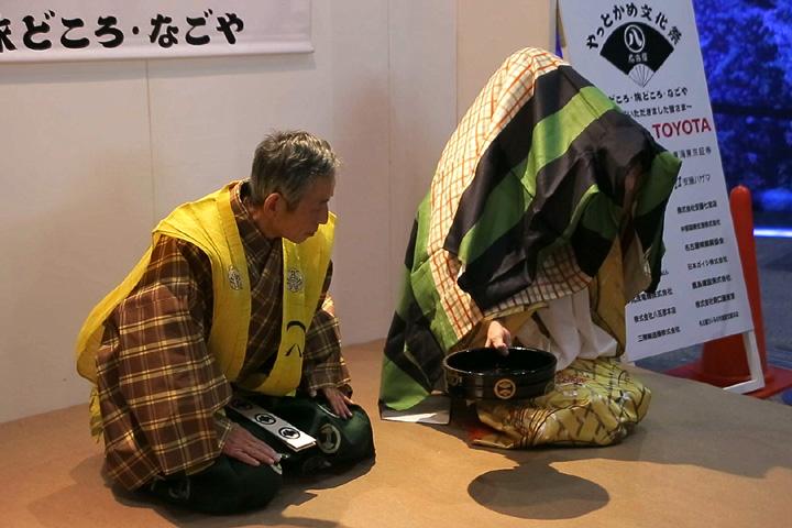 辻狂言「因幡堂(いなばどう)」