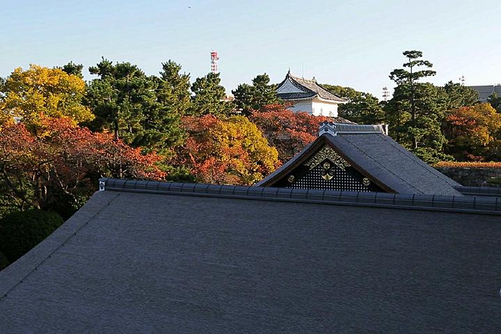 本丸御殿の屋根