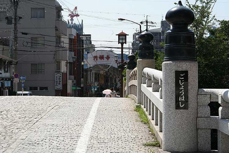 円頓寺は、清須越しによってできた商人の町。