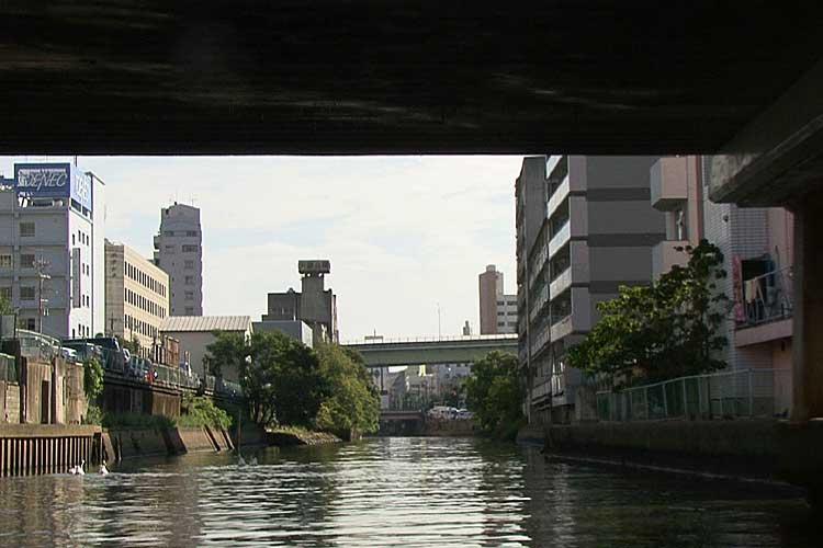新洲崎橋へ