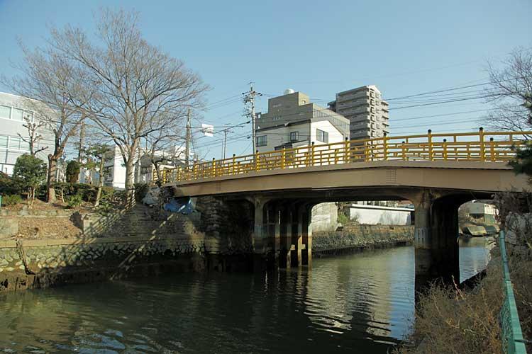 日置橋-江戸七橋のひとつ