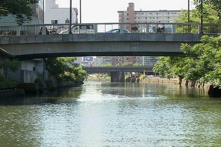 古渡橋-江戸七橋の一つ